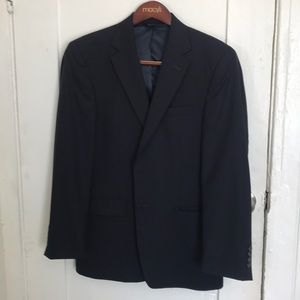 Navy Blue Blazer - 40R